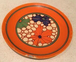 Clarice Cliff Broth Plate - Stunning!