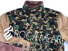 Sz.XL Rocawear Camo Battalion Jacket M-65 Infantry Hip Hop (Supreme Style) Coat