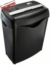 Office Shredder Crosscut Paper Destroy Heavy-duty Cd Dvd Credit Card