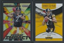 Mason Rudolph 2018 Prizm Instant Impact + ROTY Contenders Pittsburgh Steelers