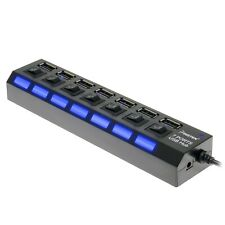 7-Port USB 3.0 Data Hub Splitter