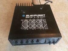 Blaupunkt BEB-70 Equalizer Booster 4x18 Watt für Autoradio KFZ HiFi