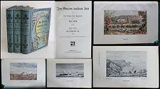 M. Eyth Im Strom unserer Zeit 3 Bde 1904 Ingenieur Briefe Autobiografie xy