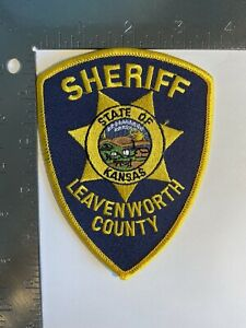 LEAVENWORTH COUNTY SHERIFF KANSAS PATCH