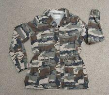 BANANA REPUBLIC Women's Small Petite Jacket Camo Camouflage Military Jacket