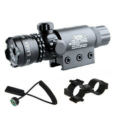 Adjusted Hunting Red Dot Laser Sight Scope 20mm Picatinny Mount 4 Rifle Gun New