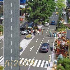 * Busch scala N 7087 strada adesiva asfalto 2 metri x 4 cm Nuova