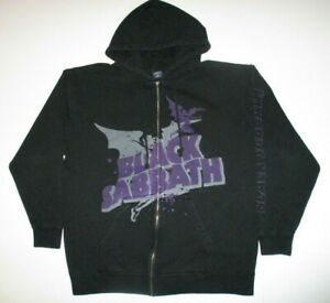 Black Sabbath - Masters Of Reality Full Zip Hoodie Men's XL Double Sided