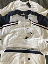 Abercrombie Kids Shirt Lot Boys Size 13/14 Short Sleeve Icon Tee T-Shirt White