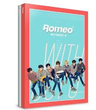 K-POP ROMEO 4th Mini Album [WITHOUT U] (Day Ver.) CD+Photobook+Postcard Set