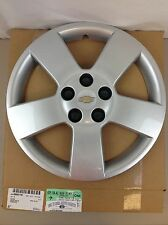 2006-2011 Chevrolet HHR Front/ Rear Silver 5 Spoke Plastic WHEEL HUB CAP new OEM