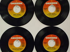 LOT OF 4 ' RODNEY CROWELL ' HIT 45's     THE 80's!