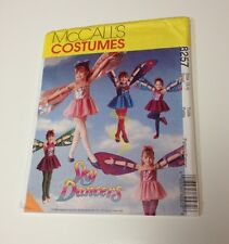 Mccall's 8257 Skydancer Costume Fairy Wings Size 3 4