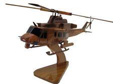 Bell UH-1 UH-1Y Super Huey Venom USMC Marine Helicopter Wood Wooden Model New