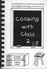 *DUBUQUE IA 2005 ST JOSEPH KEY WEST CATHOLIC SCHOOL COOK BOOK COOKING WITH CLASS