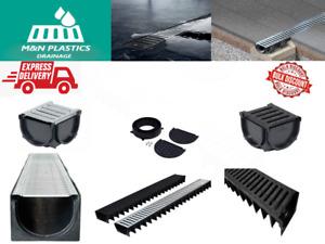 Drain Channel Drainage DriveWay-Patio-Threshold Muffel Drain System (1.5t-2t)