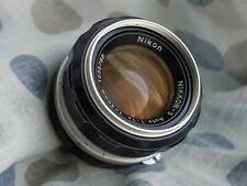 Nikon Nikkor F (pre-AI) 50mm 1: 1,4 · 50 mm f1,4