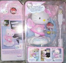 Hello Kitty: zoomo USB Interactive Computer Toy light action makes sound toy