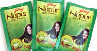 Godrej Nupur Mehendi Mehndi Henna Hair Color & Tattoos 100% Natural Fast Shiping