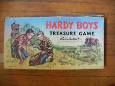 """Walt Disney """"Hardy Boys Treasure Game"""" Board Game by Parker Brother Toys 1957"""