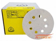 "125mm Sanding Discs WOOD & Automotive Sandpaper 5"" KLINGSPOR // 40 - 600 GRIT"