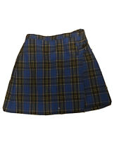 Dennis Uniform Mayfair Plaid Skort J13