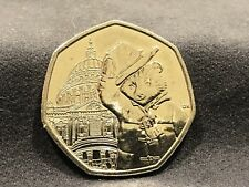 2019 PADDINGTON BEAR AT ST PAULS CATHEDRAL 50P COIN Great Coin ....