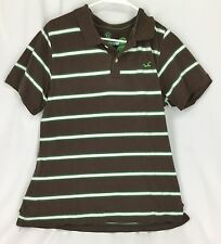 Hollister Multi Color Striped 100% Cotton Polo Shirt Boys Size XL