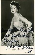 Carola Hohn Autograph Actress In Charleys Aunt & Derrick Signed Photo