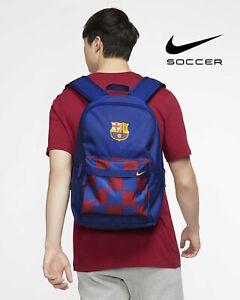 Nike FC Barcelona Barca FCB Stadium Football Soccer School Backpack - Blue Red