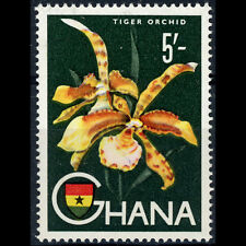 GHANA 1959-61 5s Tiger Orchid. Flower. SG 224. Mint Never Hinged. (AX545)