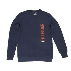 Tommy Hilfiger Men's Graphic French Terry Long Sleeve Pullover Shirt