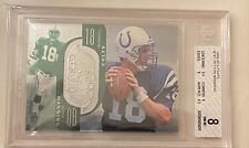 1998 SPX FINITE #181 Peyton Manning BGS 8 1763/1998 Rookie Card RC Rare