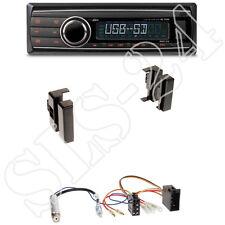 Caliber RMD212 Radio + Audi A4 (B5) A6 (C4) 1-DIN Blende schwarz + ISO-Adapter
