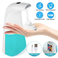 Touchless Automatic Foaming Soap Dispenser Smart Infrared Motion Sensor 250ML US