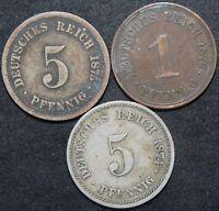 Mix Of German 5 Pfennig Coins | Bulk Coins | KM Coins