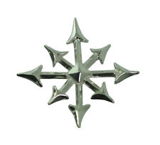 Sterling Silver .925 Gothic Magic Star chaosphere Pendant Charm anarchy Chaos