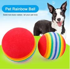 Training Pet Supplies 6/12pcs Colorful Pet Soft Foam Rainbow PlayBalls Dia 3.5cm