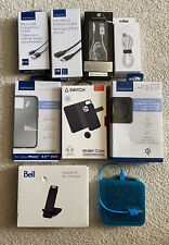 Lot of 9: Assorted Brands Electronics Accessories for Smartphones and Computer