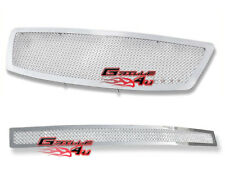 Customized For 03-05 Infiniti FX35/FX45 Stainless Mesh Premium Grille Combo