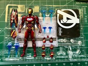 SH Figuarts Iron Man Mark Mk50 L Avengers Infinity War Authentic Bandai Tamashii