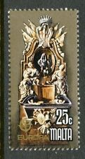 MALTA 1978 Europa CEPT Baudenkmäler Denkmäler aus der St.-Georgs-Kapelle 25 C.**