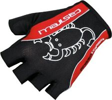 Castelli Rosso Corsa Men's Cycling Glove Black/Red Size Small