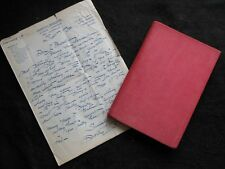 DUNCAN FIFE; This Huntin' Business - 1934-1st + Author Letter - Hunting/Hunt