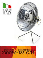 Mini stufa a gas - Stufa a gas GPL a parabola - omologata 2,3 KW Made in Italy
