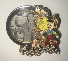 Disney Pin Walts Legacy Le Lady And Tramp Dalmatians Pinocchio Snow White Tink