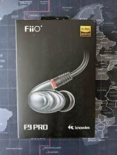 FiiO F9PRO Triple Driver Hybrid Metal Case HiFi Earphone w/ all accessories/pkg