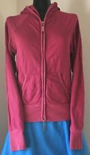 Women's HARD TAIL Red Full Zipper Closure Medium M Long Sleeve Hoodie Sweatshirt