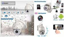 Caméra IP Extérieur étanche Dome WIFI 1 Mega Smartphone ZOOM X5 Enregistrement