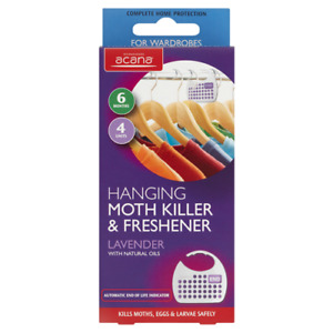 Acana Hanging Moth Killer and Lavender Freshener (Choose Quantity)